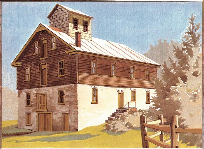 oscelola mill painting